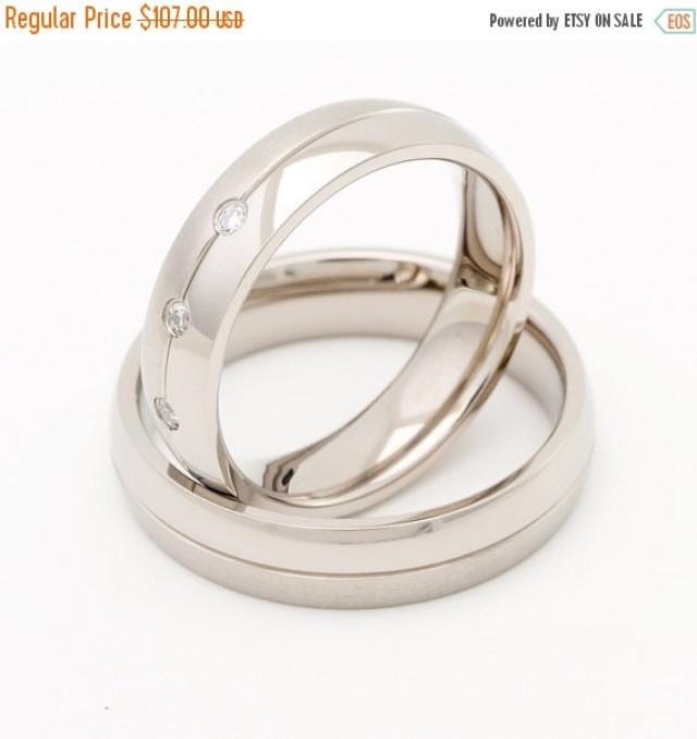 on sale titanium wedding ring sets his and hers with With wedding rings sets on sale