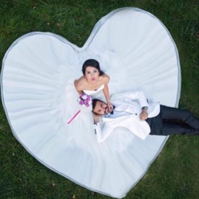 wedding photo - New Arrival Sweetheart Heart Shaped Wedding Dress Bridal Gown