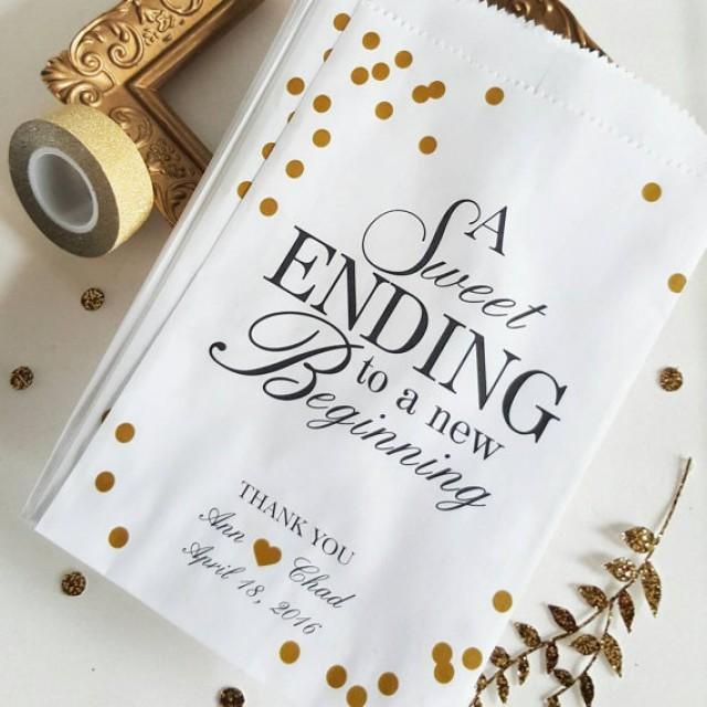wedding photo - Wedding Candy Bag / Favor Bags / Wedding Candy Bag / Anniversary Favor / Baby Shower Treat Bag