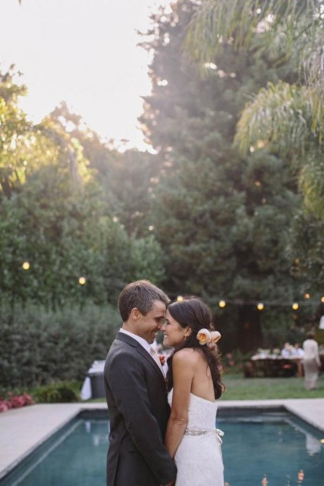 wedding photo - Late Summer Wedding In California