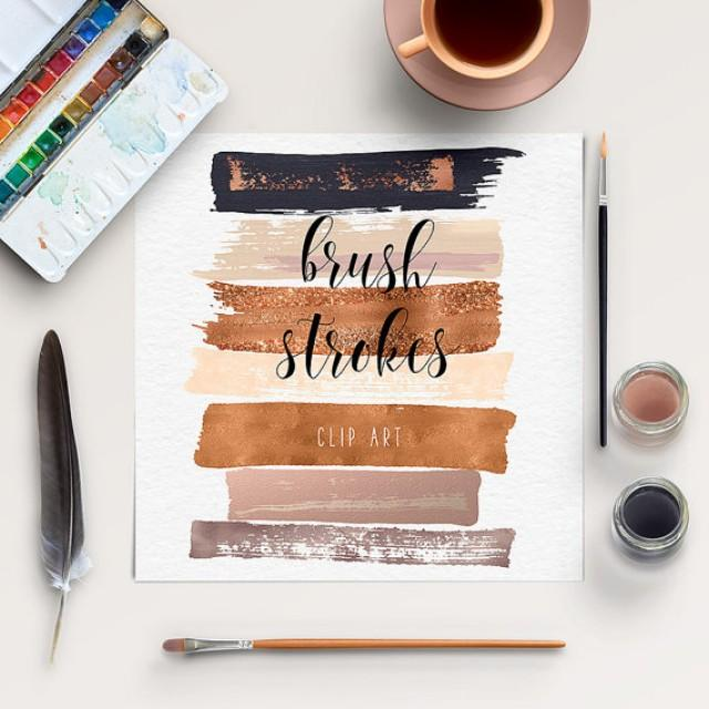 wedding photo - Brush Stroke Clip Art