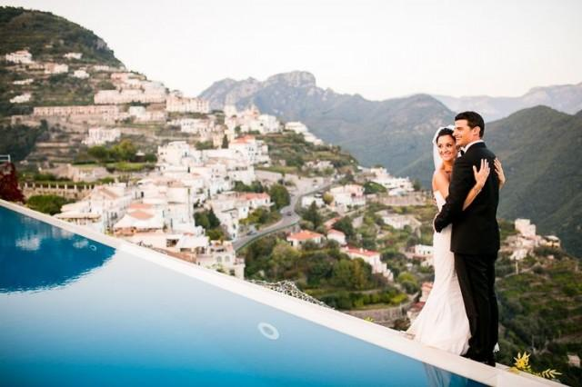 wedding photo - Intimate And Chic Wedding In Italy - The SnapKnot Blog
