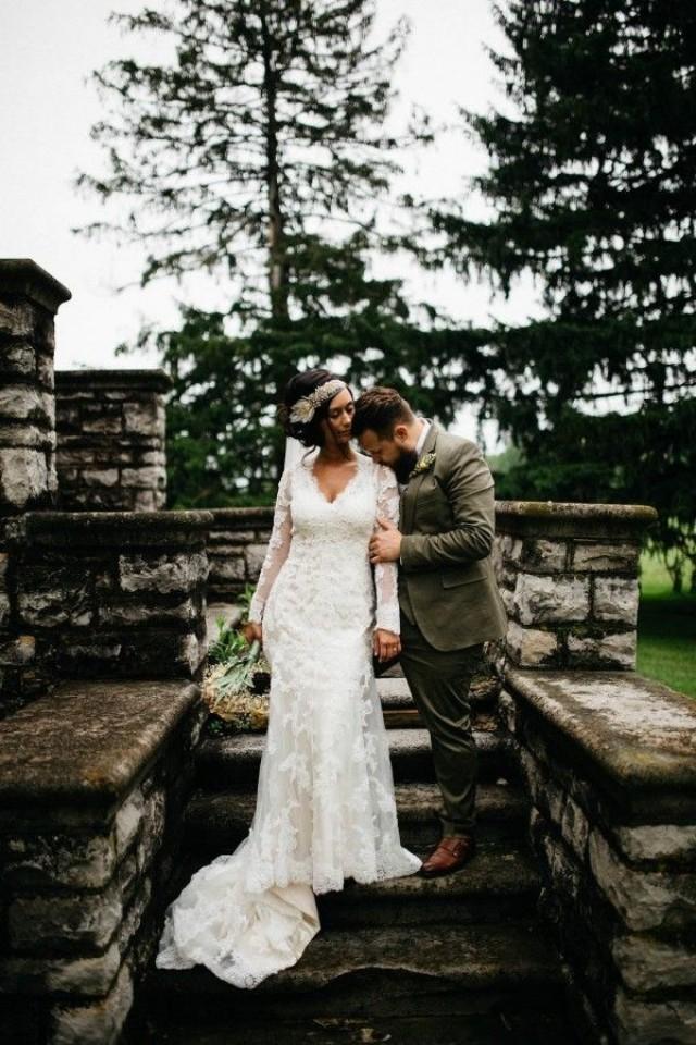 wedding photo - Free-Spirited Ohio Wedding At Ohio Memorial Chapel