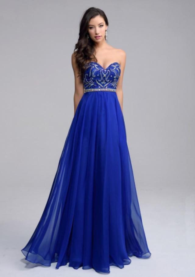 Ruched a line sweetheart blue red sleeveless beads zipper for Trisha yearwood wedding dress