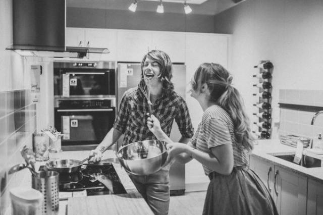 wedding photo - These IKEA Engagement Photos Are As Sweet As They Are Unique
