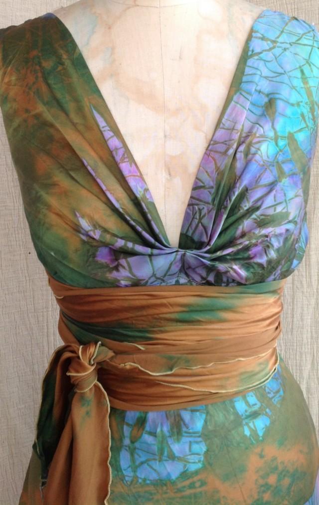 ESHOW New 2014 Long bridesmaid dress lace half sleeve plus
