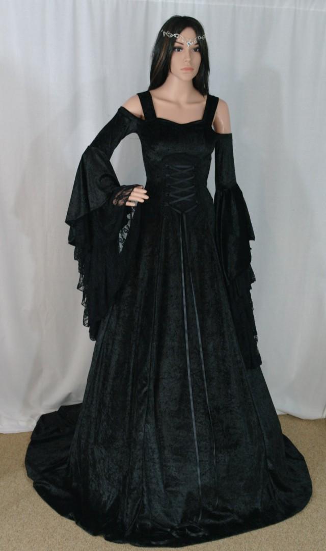 gothic dress renaissance dress medieval dress