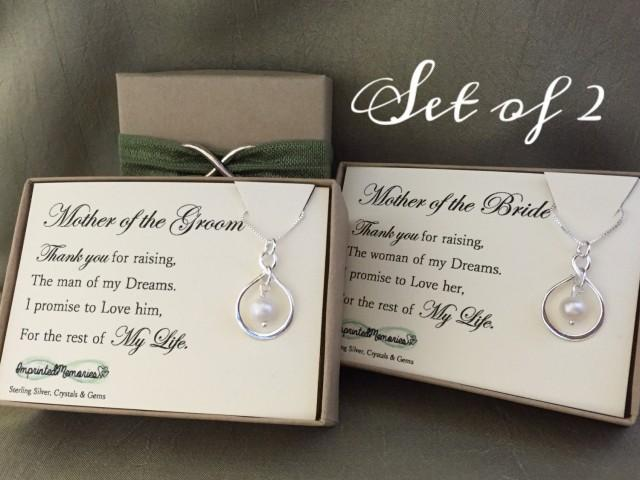 ... Groom Gift - Mother Of The Bride Gift Wedding Necklace Thank You