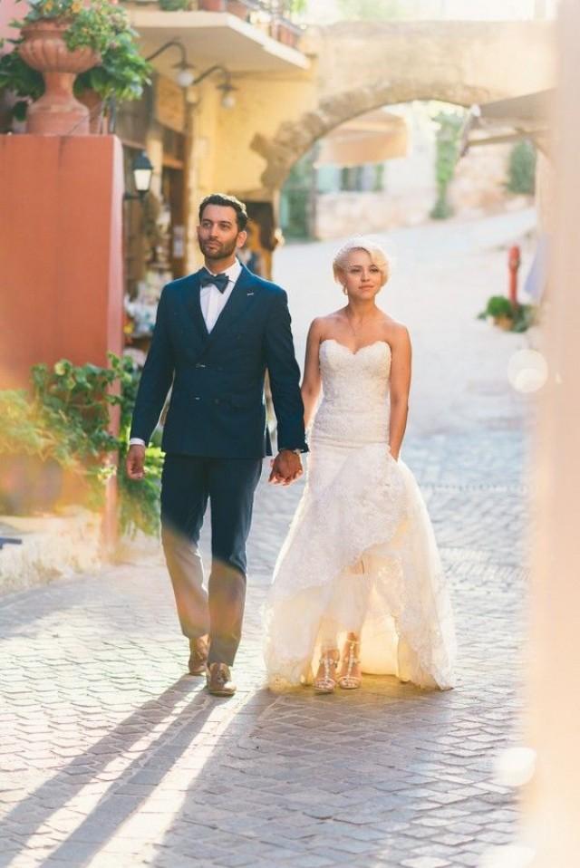 wedding photo - Classic Crete, Greece Wedding At Agreco Farm