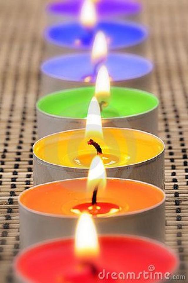 Matrimonio Tema Candele : Tema de la boda rainbow candles i weddbook