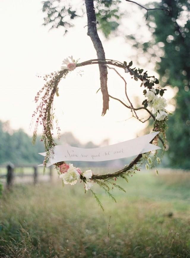 wedding photo - The Flower Crown
