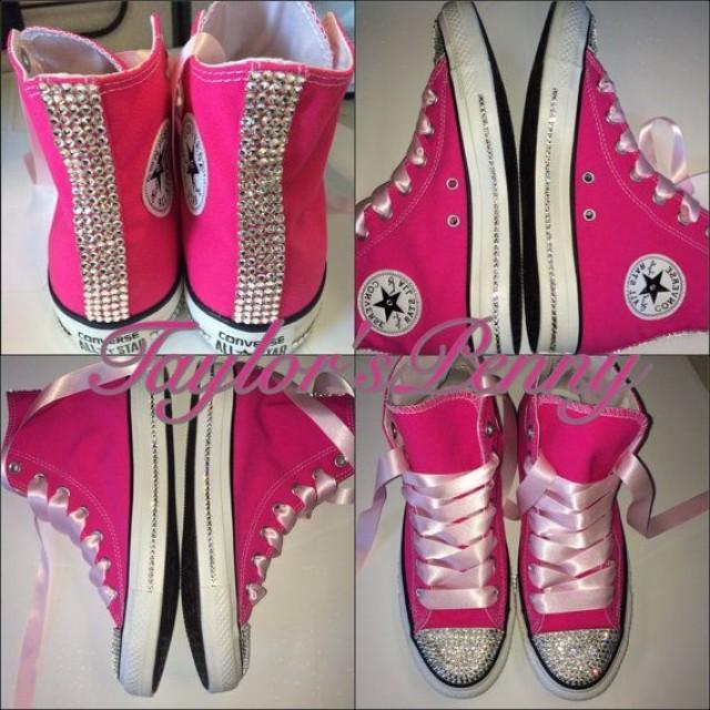 4a517627627c Wedding Converse  Bride Sneakers  Swarovski Converse  Bridesmaid Converse   Embellished Converse  Bride Shoes