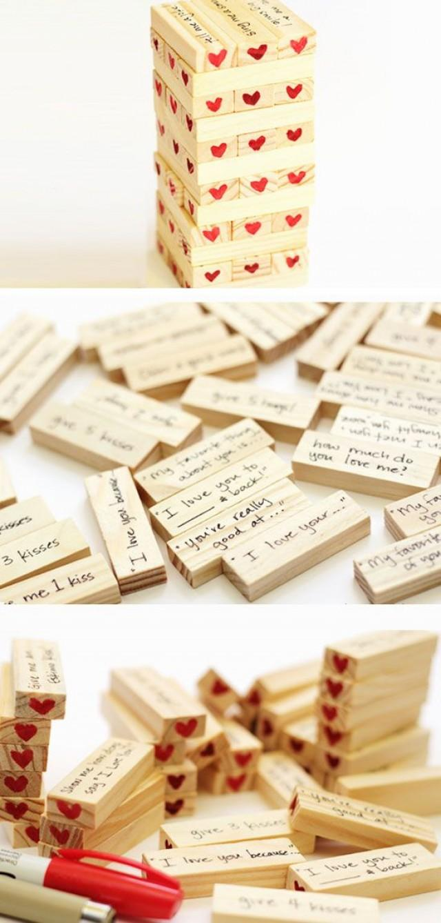 Romantic diy anniversary gifts for him weddbook