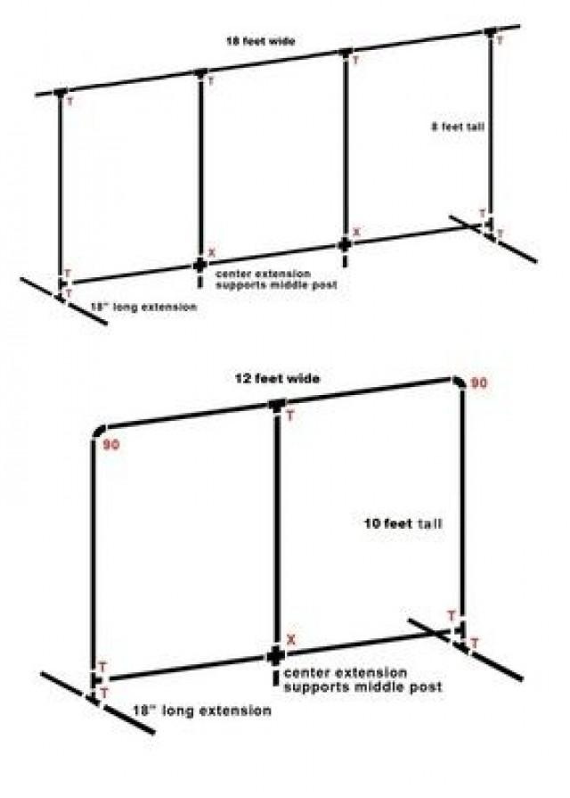 Decor Pvc Pipe Backdrop 2545868 Weddbook