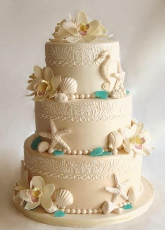 Hawaiian Style Wedding Cakes