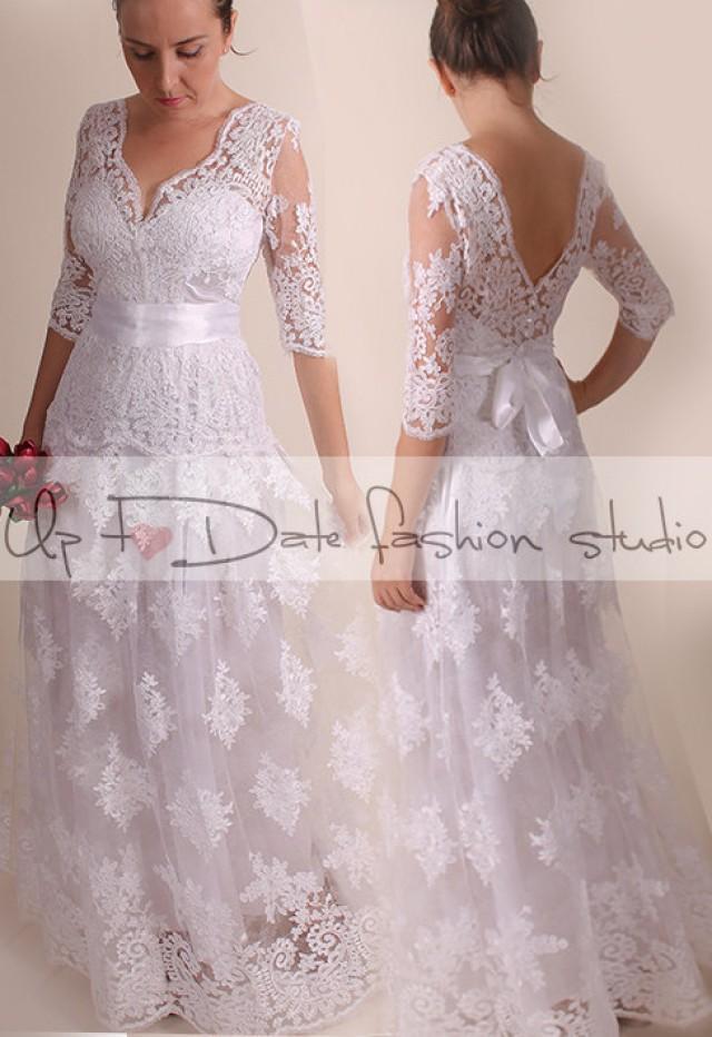 Plus Size Wedding Dresses 3 Weddbook