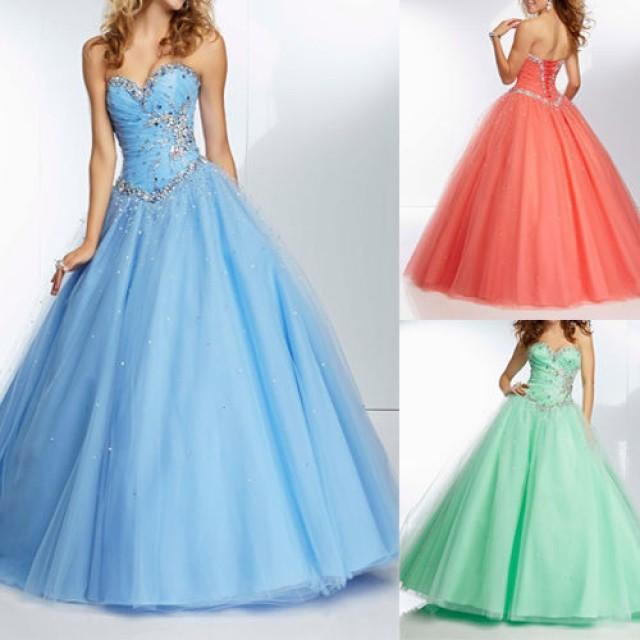 Ball Gown Wedding Dress Size 16 : Wedding bride dresses formal ball gown size