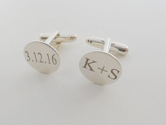 Wedding Gift Cufflinks For Groom : Mens Cuffinks,Wedding Cufflinks,Custom Groom Cufflinks,Gift For Groom ...