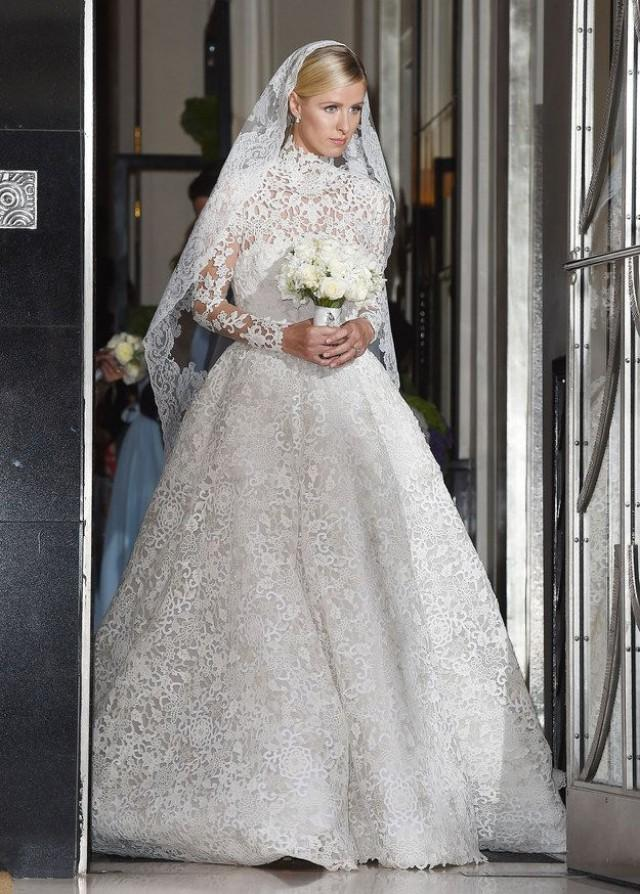wedding photo - Nicky Hilton Just Got Married And Wore The Most Incredible Dress