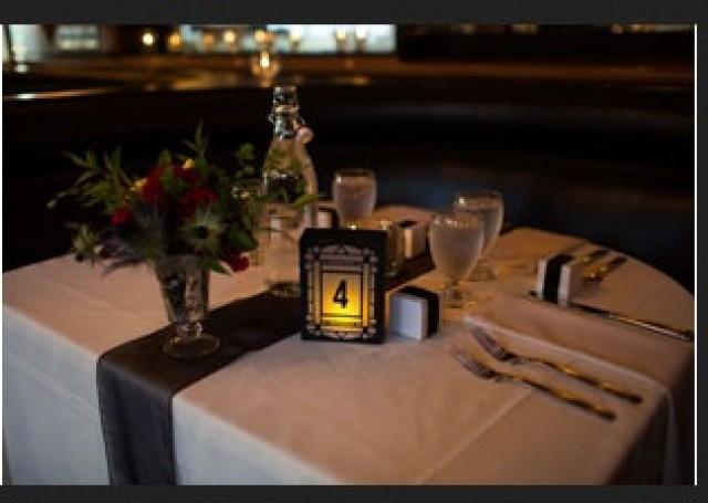 wedding photo - New Art Deco / Art Nouveau Luminary Wedding Table Numbers. Wedding Table Markers, Luminaries, Wedding Decor