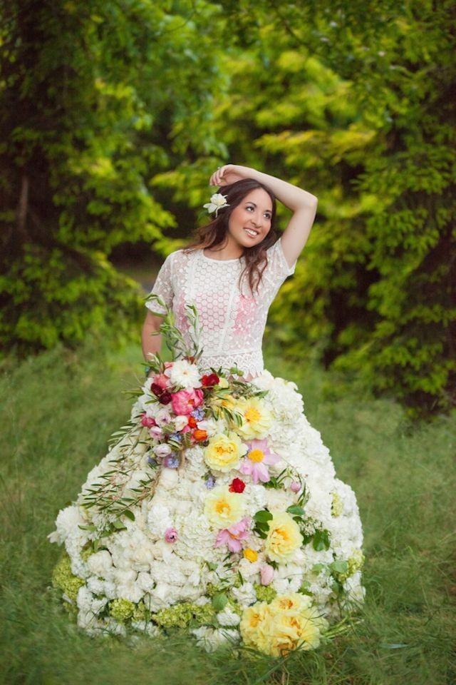 Flower fairies wedding
