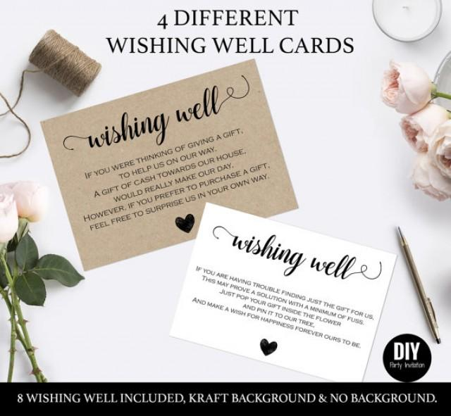 Wishing Well Cards For Wedding 2559717