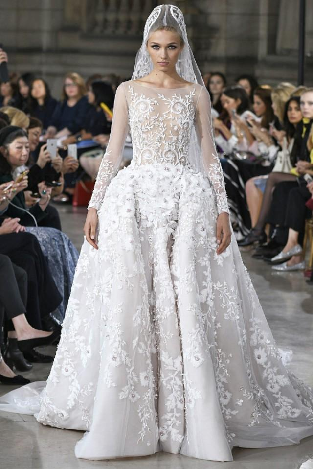 Wedding Dress Trends For Fall 2017 : Haute couture fall winter  wedding dresses