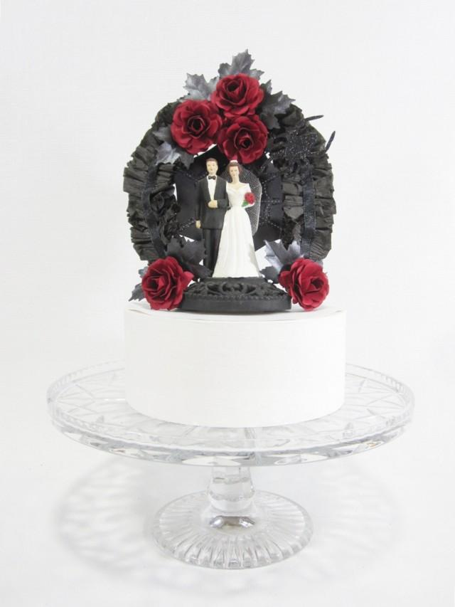 Decoraci N Gothic Wedding Cake Topper 2560465 Weddbook