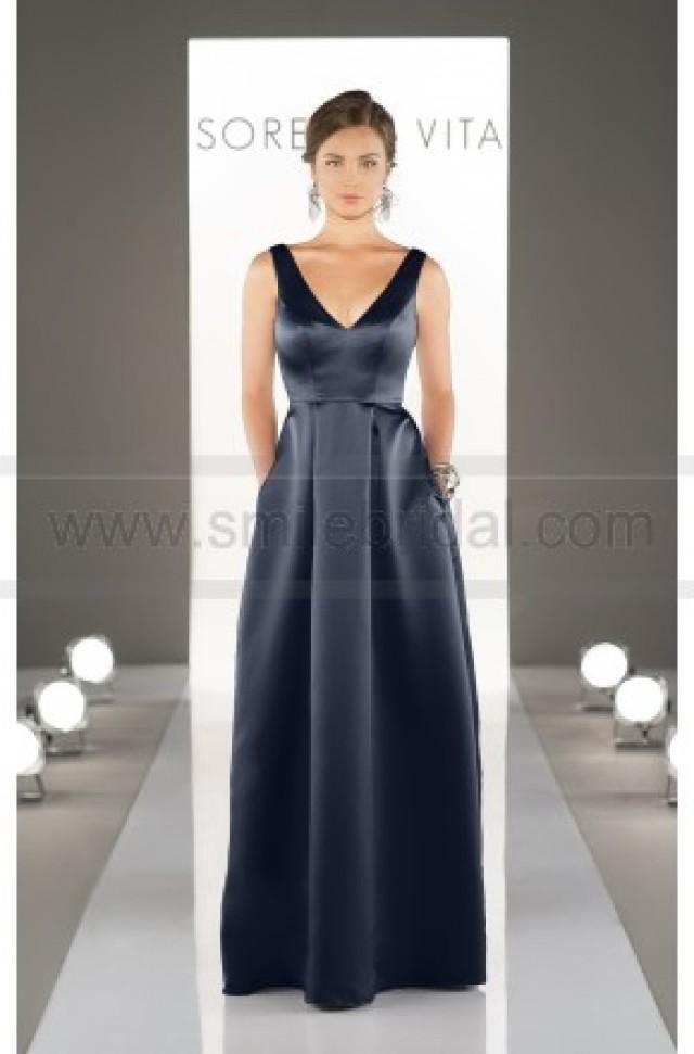 wedding photo - Sorella Vita Floor Length Bridesmaid Dress Style 8721