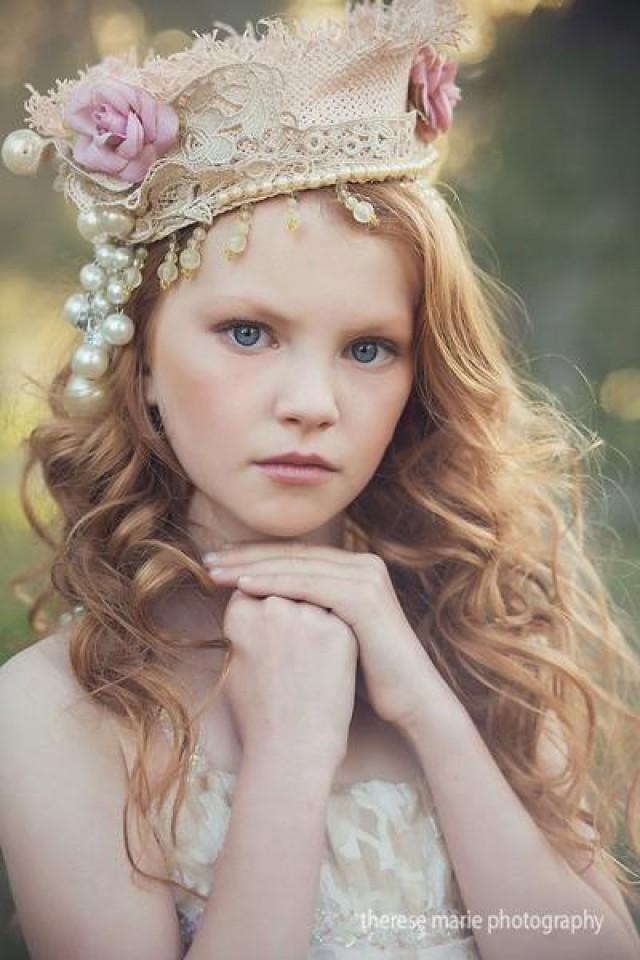 wedding photo - Regina Crown Flower Girl