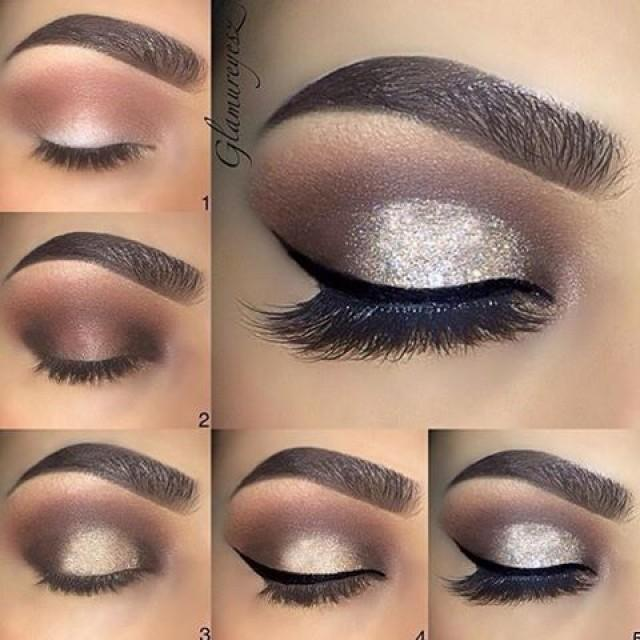 "wedding photo - Universo Da Maquiagem On Instagram: ""Step By Step ✨✨ @makeupbyglamureyesz @makeupbyglamureyesz @makeupbyglamureyesz ✨✨    …"""