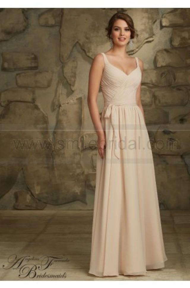 wedding photo - Mori Lee Bridesmaids Dress Style 20461 - Bridesmaid Dresses 2016 - Bridesmaid Dresses