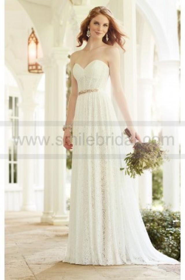 Martina Liana Modern Lace Wedding Dress Separates Style CORA SADIE