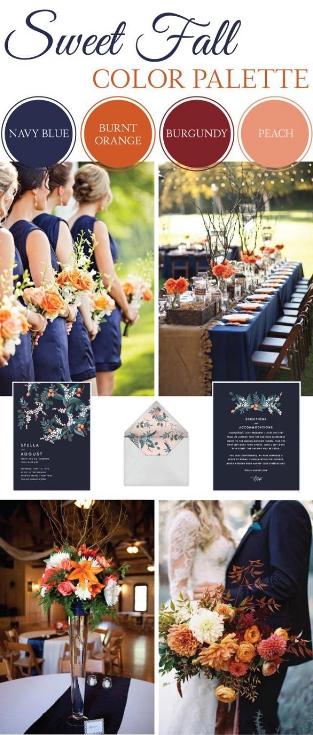 Wedding Theme - Sweet Fall Wedding Color Palette #2568318 ...