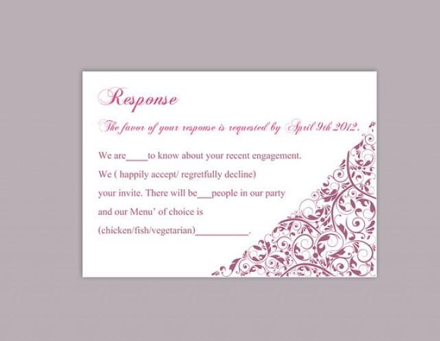 wedding rsvp template word - Neptun
