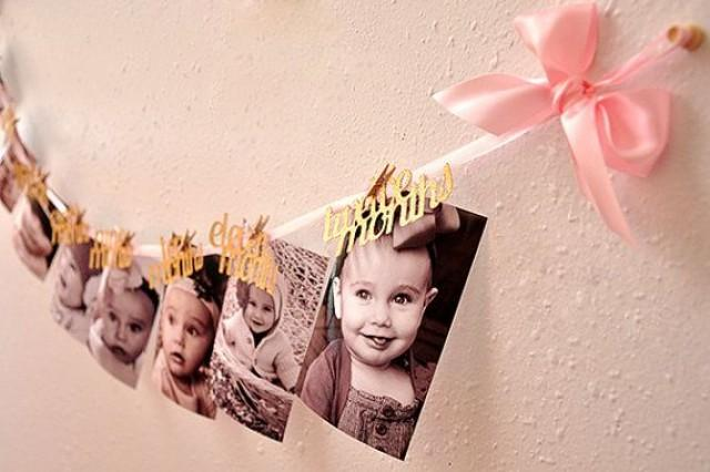 Pink And Gold First Birthday Decorations. Ready To Ship ...