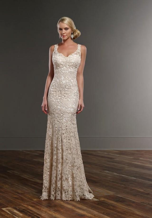 Martina liana 740 wedding dress the knot formal for Wedding dresses the knot