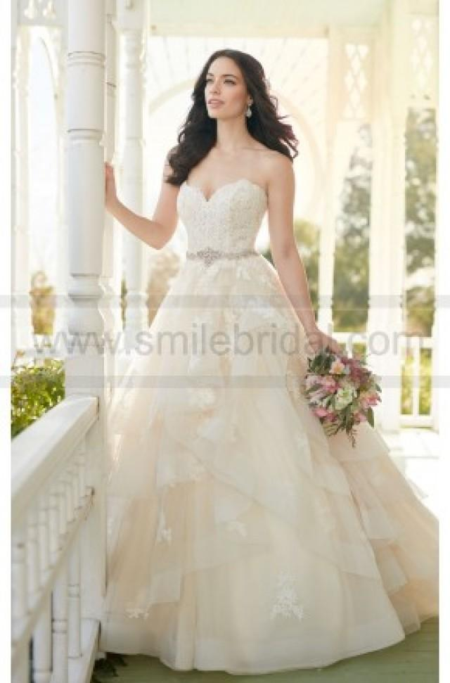 wedding photo - Martina Liana Strapless A-Line Wedding Dress With Sweetheart Bodice Style 821 - Wedding Dresses 2016 - Wedding Dresses