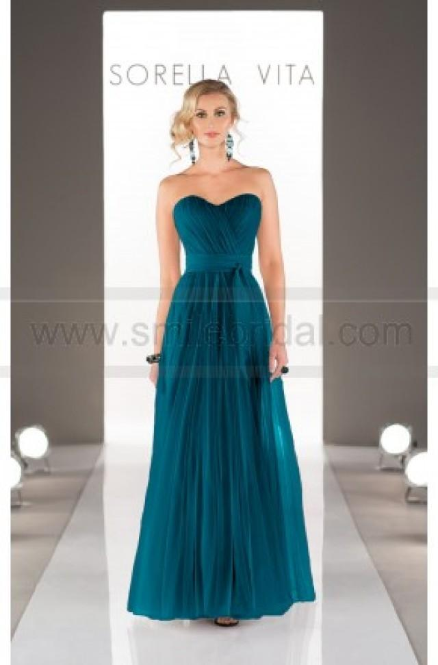 wedding photo - Sorella Vita Convertible Bridesmaid Dress Style 8595 - Bridesmaid Dresses 2016 - Bridesmaid Dresses