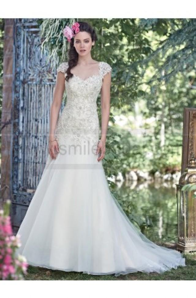 wedding photo - Maggie Sottero Wedding Dresses - Style Ladonna 6MG173 - Wedding Dresses 2016 - Wedding Dresses