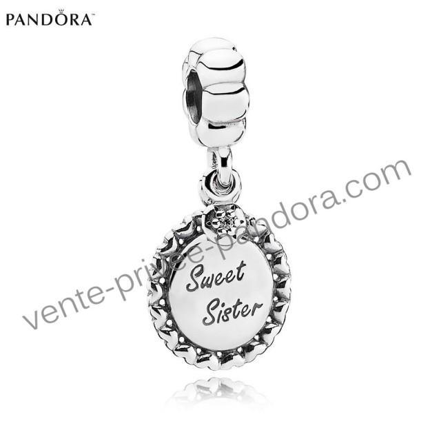 Nouveau mod le d couvrez pendentif pandora en solde soeur argent p0347 257 - Vente privee pandora ...