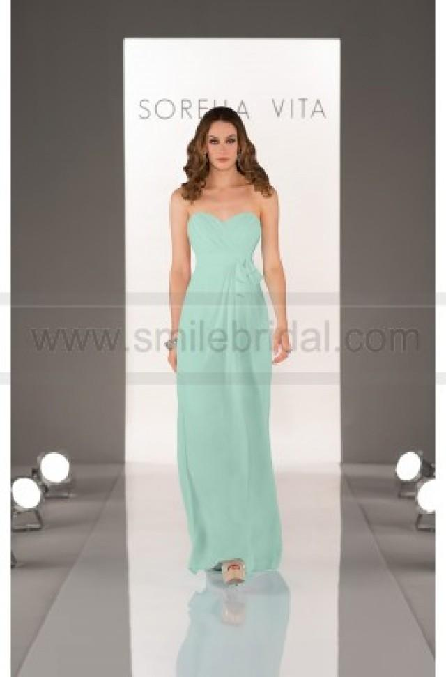 wedding photo - Sorella Vita Mint Green Bridesmaid Dresses Style 8432 - Bridesmaid Dresses 2016 - Bridesmaid Dresses
