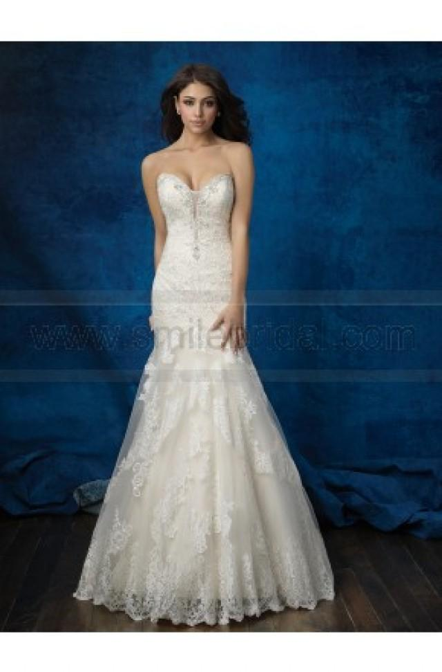 wedding photo - Allure Bridals Wedding Dress Style 9376 - Wedding Dresses 2016 - Wedding Dresses