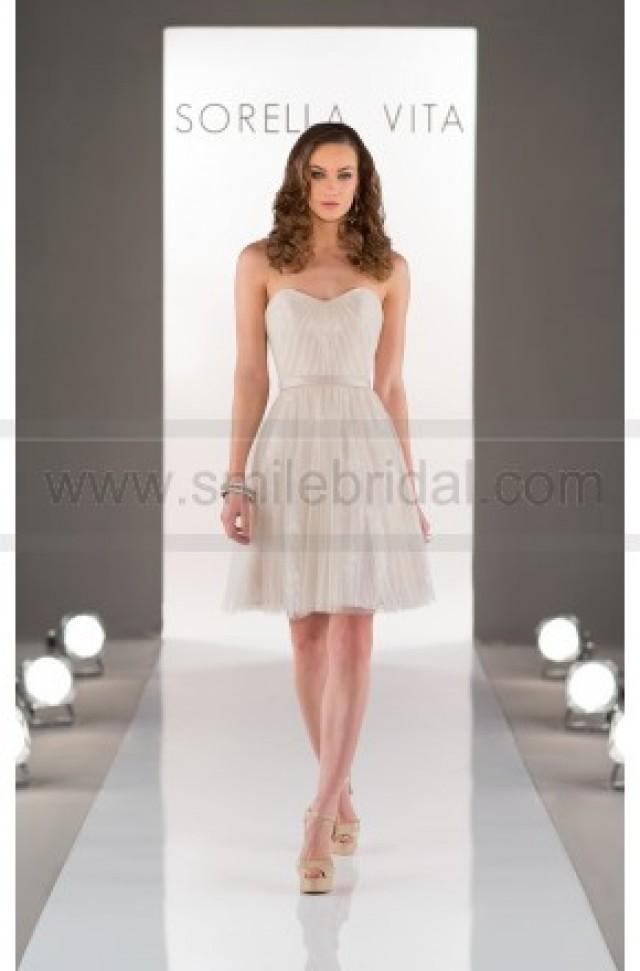 wedding photo - Sorella Vita Ivory Bridesmaid Dress Style 8500 - Bridesmaid Dresses 2016 - Bridesmaid Dresses