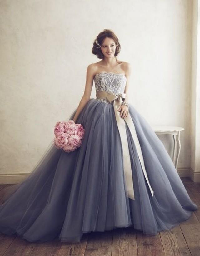 wedding photo - お色直しで絶対着たい♡シンプルで上品〔単色〕カラードレス色別まとめ*