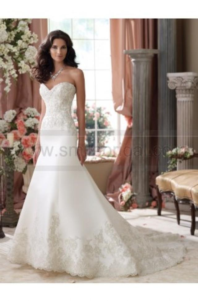 wedding photo - David Tutera For Mon Cheri 114279-Isidore Wedding Dress - David Tutera For Mon Cheri - Wedding Brands