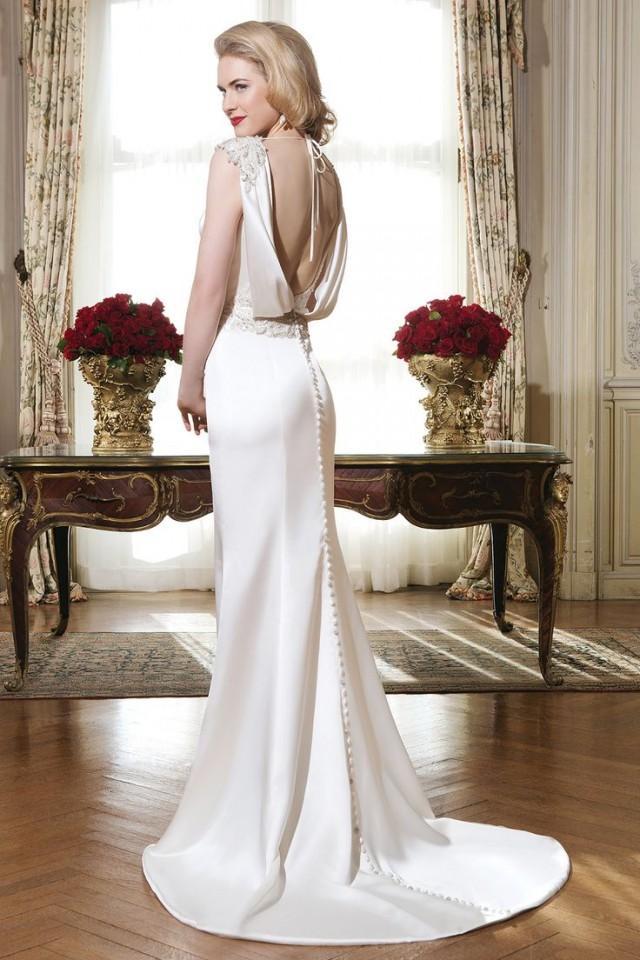 Dress 8764 by justin alexander 2576733 weddbook for Trisha yearwood wedding dress