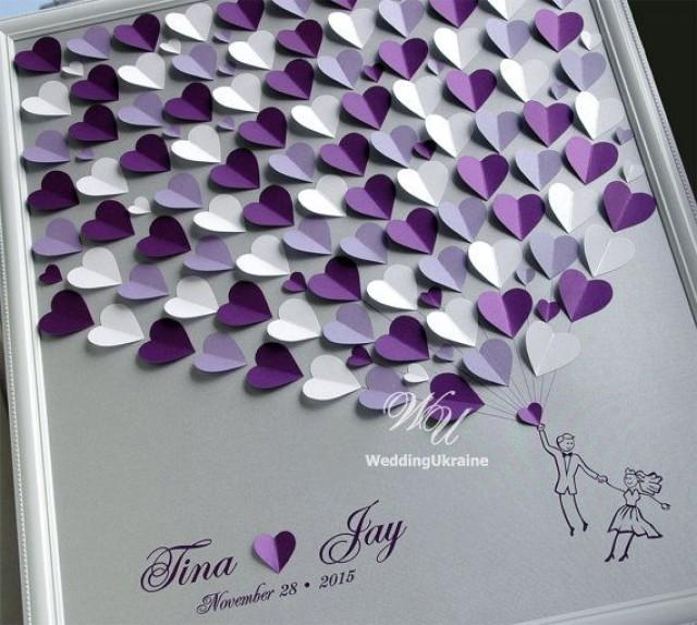 Silver And Purple Weddings Tree