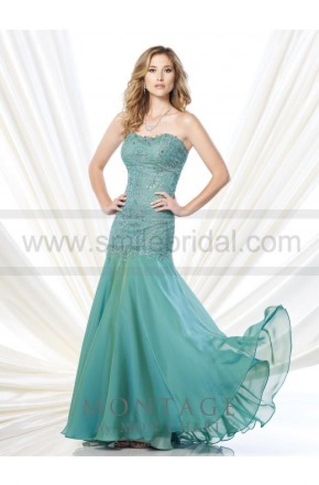 wedding photo - Mon Cheri Montage 215909 Dress - Mother of the Bride Dresses 2016 - Bridesmaid Dresses