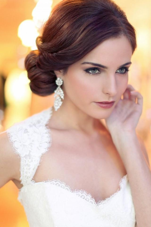 wedding photo - Vintage Hair And Makeup Wedding